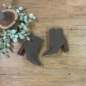 Brand New NWOT block heel booties